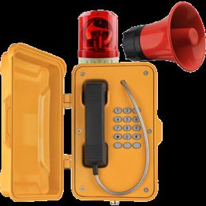 Teléfonos Industriales para intemperies