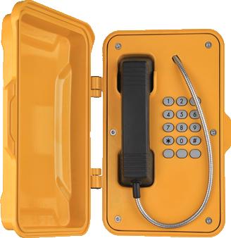 Teléfono Industrial para plantas de producción