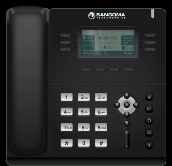 Teléfonos IP Conectados entre si con extensiones